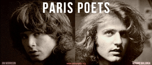 Original photos: Jim Morrison by Joel Brodski / Gerard Malanga (Gerard Malanga Archives)